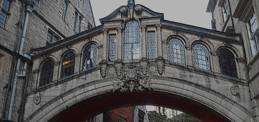 Bridge of Sighs, Oxford. (c) Marcel Aubron-Bülles