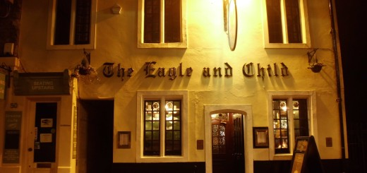 The Bird & Baby, Oxford, at night (c) Marcel Aubron-Bülles