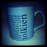 Tolkien Society Mug, Works of JRRT
