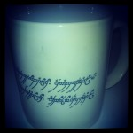 "Tolkien Special Interest Group ""Brandy Hall Smial"" Mug, Cologne, Germany"