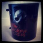Film merchandise mug with Moria Orcs