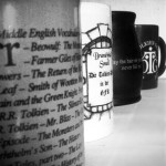 Some of the mugs' backs...