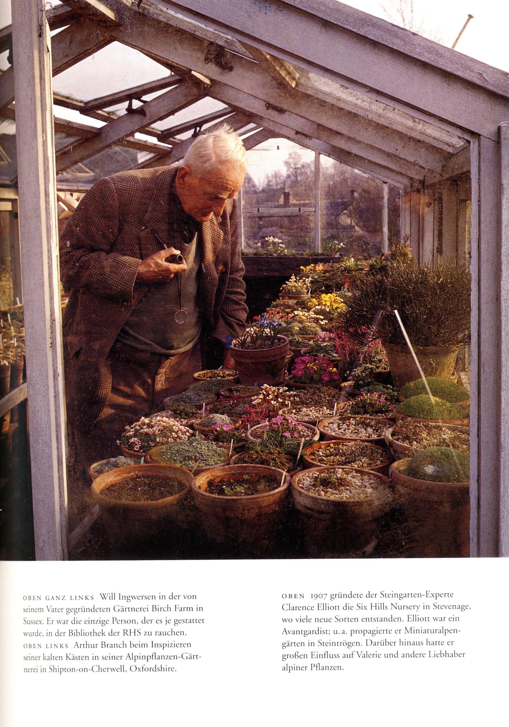 """Valerie Finnis – Picture of Clarence Elliott – Ursula Buchan – """"Garden People"""" or """"Als die Gärtner Tweed trugen"""" – Gerstenberg Verlag/ Thames & Hudson"""