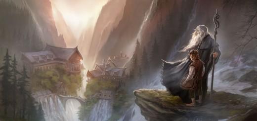 Approach to Rivendell - (c) Paul Tubin - HobbitCon