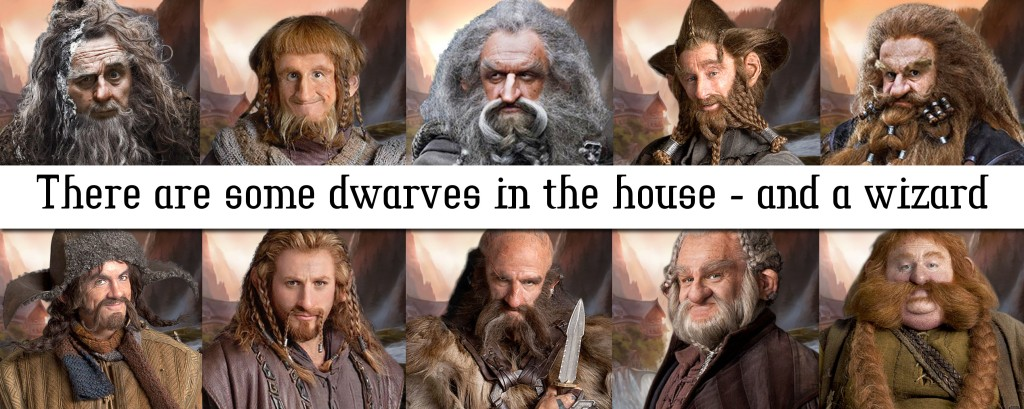 Radagast and some dwarves (c) Warner Bros. and respective owners