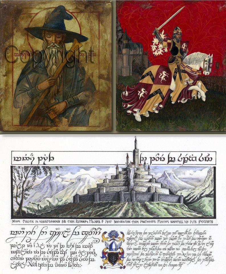 Some of (c) Jay Johnstone's artwork