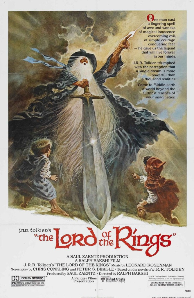 """The Lord of the Rings"" film poster, (c) Middle-earth Enterprises/ Tom Jung"