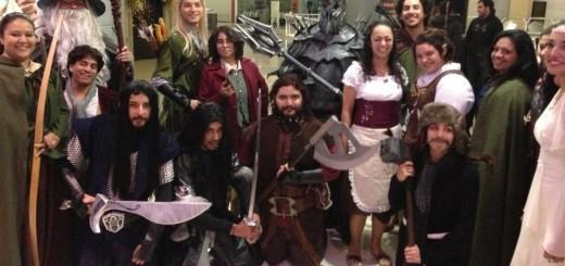 Tolkien Fans Monterrey at Hobbit Premiere