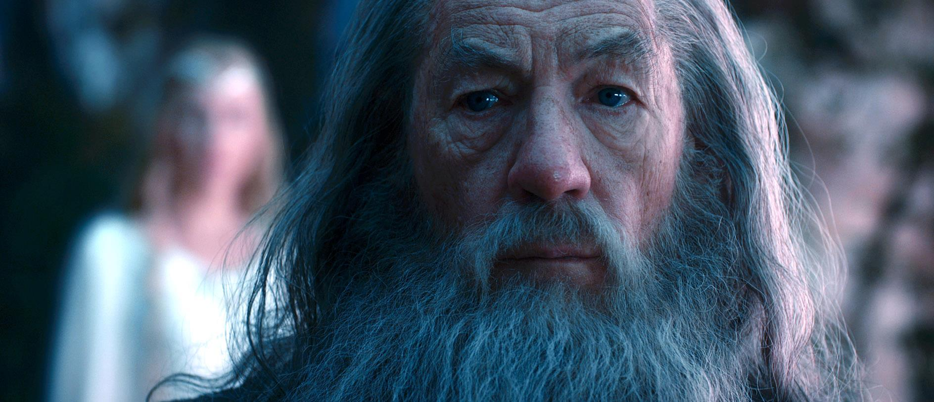 Gandalf is watching you - but who is watching Gandalf? (c) Warner Bros.