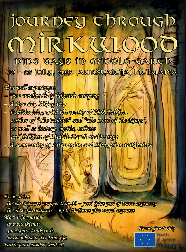 Journey through Mirkwood - how to participate