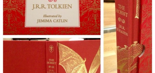 Deluxe edition of the new illustrated version of The Hobbit! (c) HarperCollins, Jemima Catlin