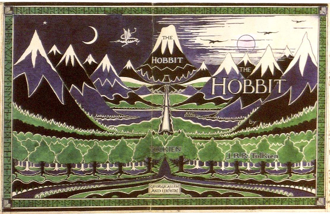 Old 'Hobbit' cover (c) Tolkien Estate/ HarperCollins
