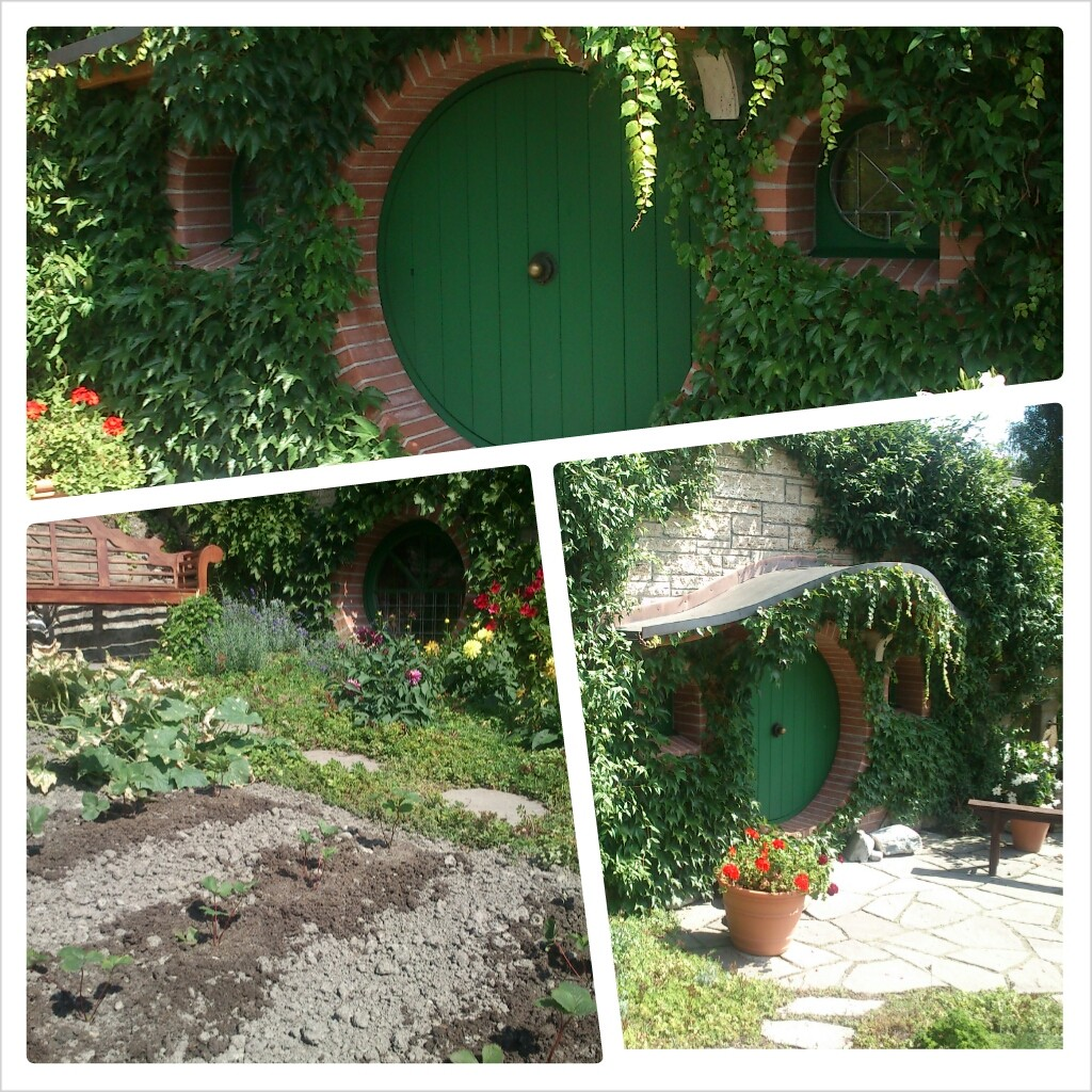 Hobbit hole at Greisinger Museum, Jenins, Switzerland