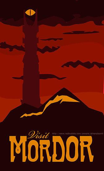 Visit Mordor. (c) Athena Leonti