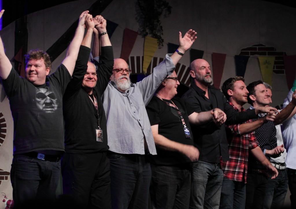 The Dwarves at HobbitCon 2013 (c) FedConEvents etc.