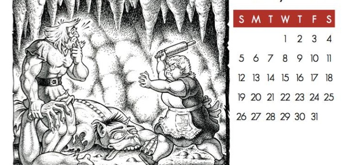 2014 Patrick H. Wynne Calendar, January. (c) Patrick H. Wynne