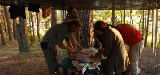 Dinner is almost ready in Mirkwood