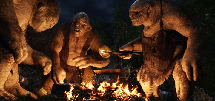 The trolls. © Warner Bros. Entertainment Inc. All rights reserved. THE HOBBIT: AN UNEXPECTED JOURNEY and the names of the characters, items, events and places therein are trademarks of The Saul Zaentz Company d/b/a Middle-earth Enterprises under license to New Line Productions, Inc.