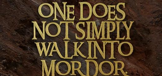 One does not walk into Mordor (c) Valerio Amaro