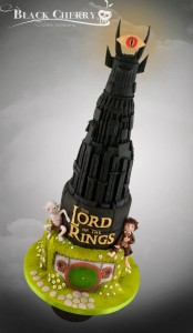Tracey Rothwell (c) Lord of the Rings cake