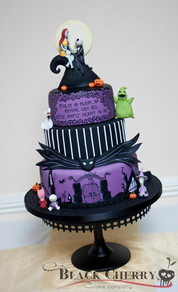Tracey Rothwell C Nightmare Before Christmas Cake
