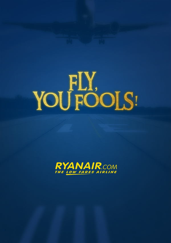 Fly, you fools. Valerio Amaro (c) Ryan Air