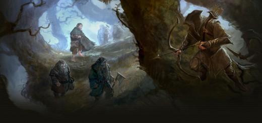 HobbitCon 2 - Background art by Artwork by Paul Tobin