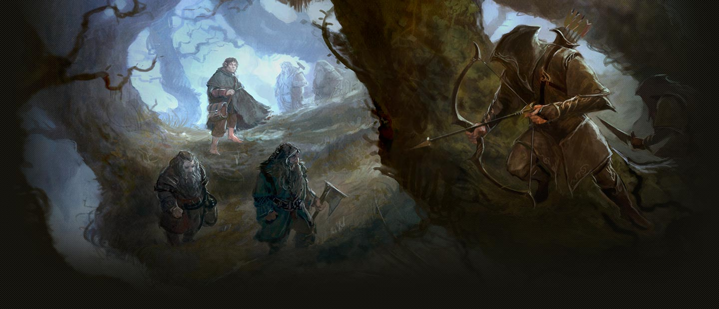 HobbitCon 2 - Background art by Artwork by Paul Tobin