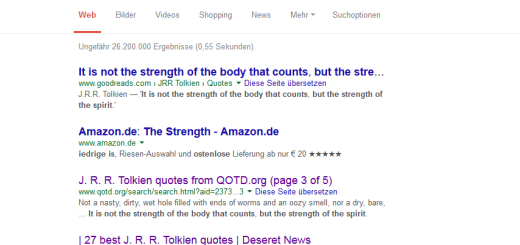 Not a Tolkien quote (c) Google search results