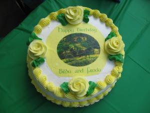 A birthday cake as it should be! (c) Carole Linda Gonzalez