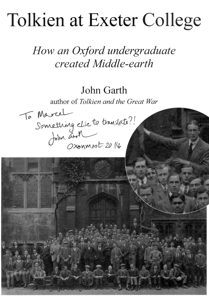 Tolkien at Exeter College (c) Exeter College, Oxford, UK and John Garth