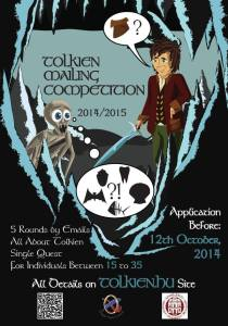 Tolkien Mailing Competition 2014 - Hungarian Tolkien Society