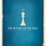 Tolkien Minimalist Posters: Patrick. Connan. The Return of the King (c)