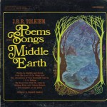 Cover art: Poems and Songs from Middle-earth by Donald Swann with J.R.R. Tolkien