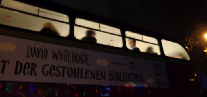 David Whitehouse and the doubledecker bus
