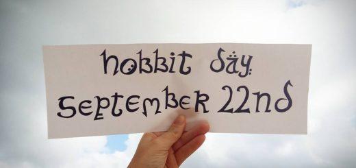 Hobbit Day Banner (c)theisleofapples