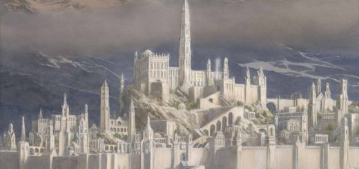 The Fall of Gondolin (c) HarperCollins, Alan Lee, Tolkien Estate