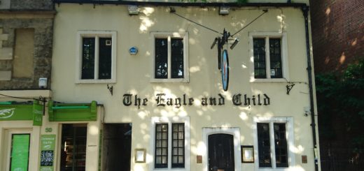Eagle & Child, Oxford, UK (c) Marcel Aubron-Bülles
