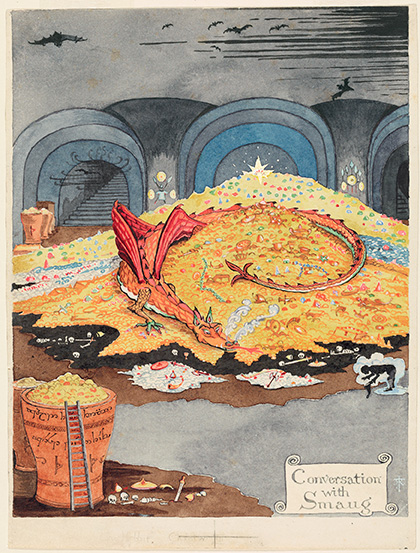 Conversation with Smaug © The Tolkien Estate Limited 1937