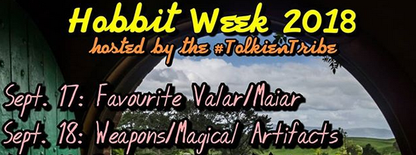 Hobbit Week 2018 invitation by @theisleofapples