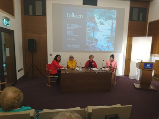 Mythopoeia Panel at Bodleian Libraries, Tolkien: Maker of Middle-earth exhibition