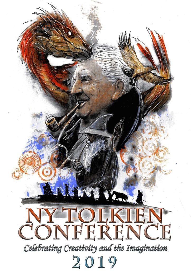 New York City Tolkien Conference. Poster: (c) Luke Spooner