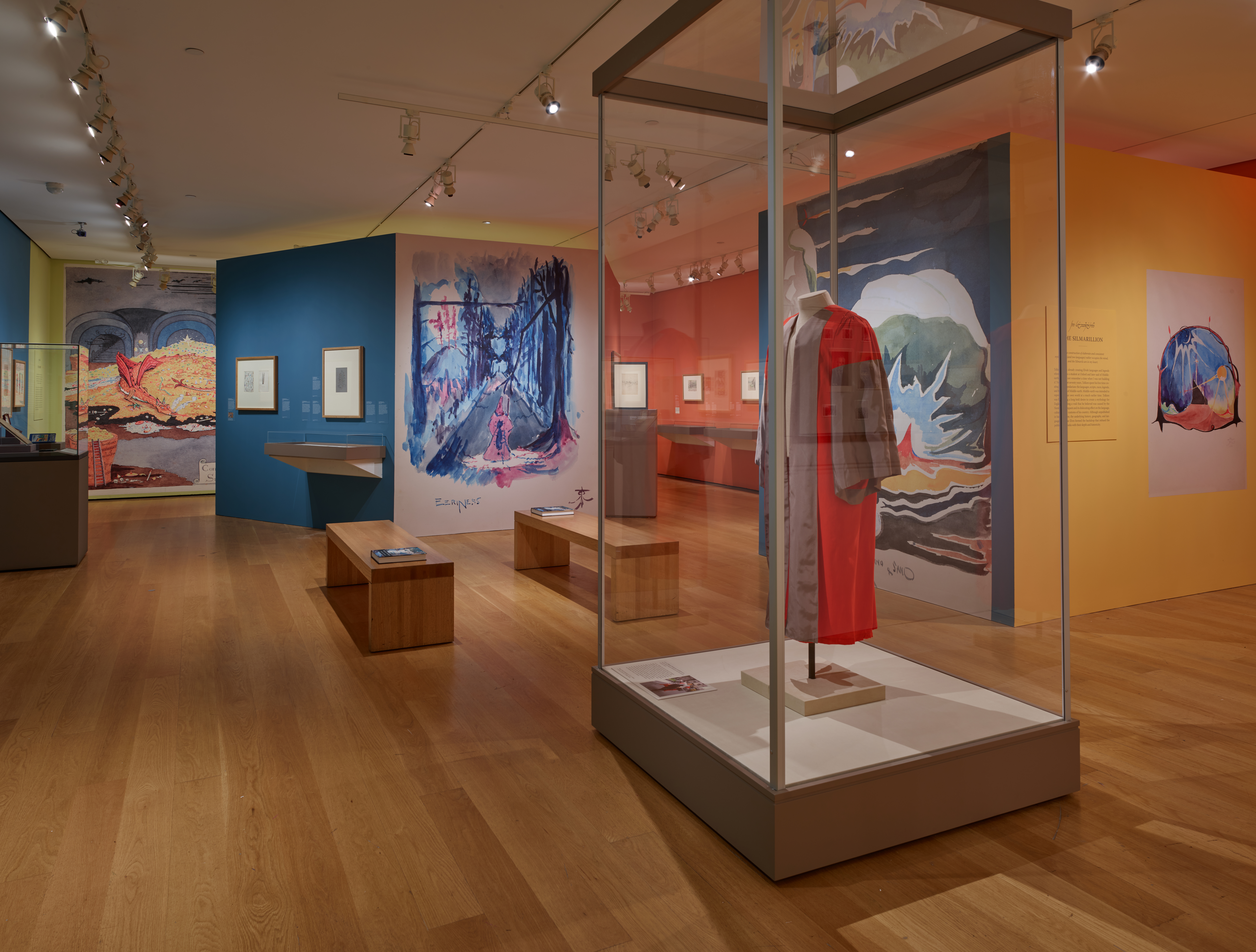 Tolkien: Maker of Middle-earth. The Morgan Library & Museum. Photography by Graham S. Haber.