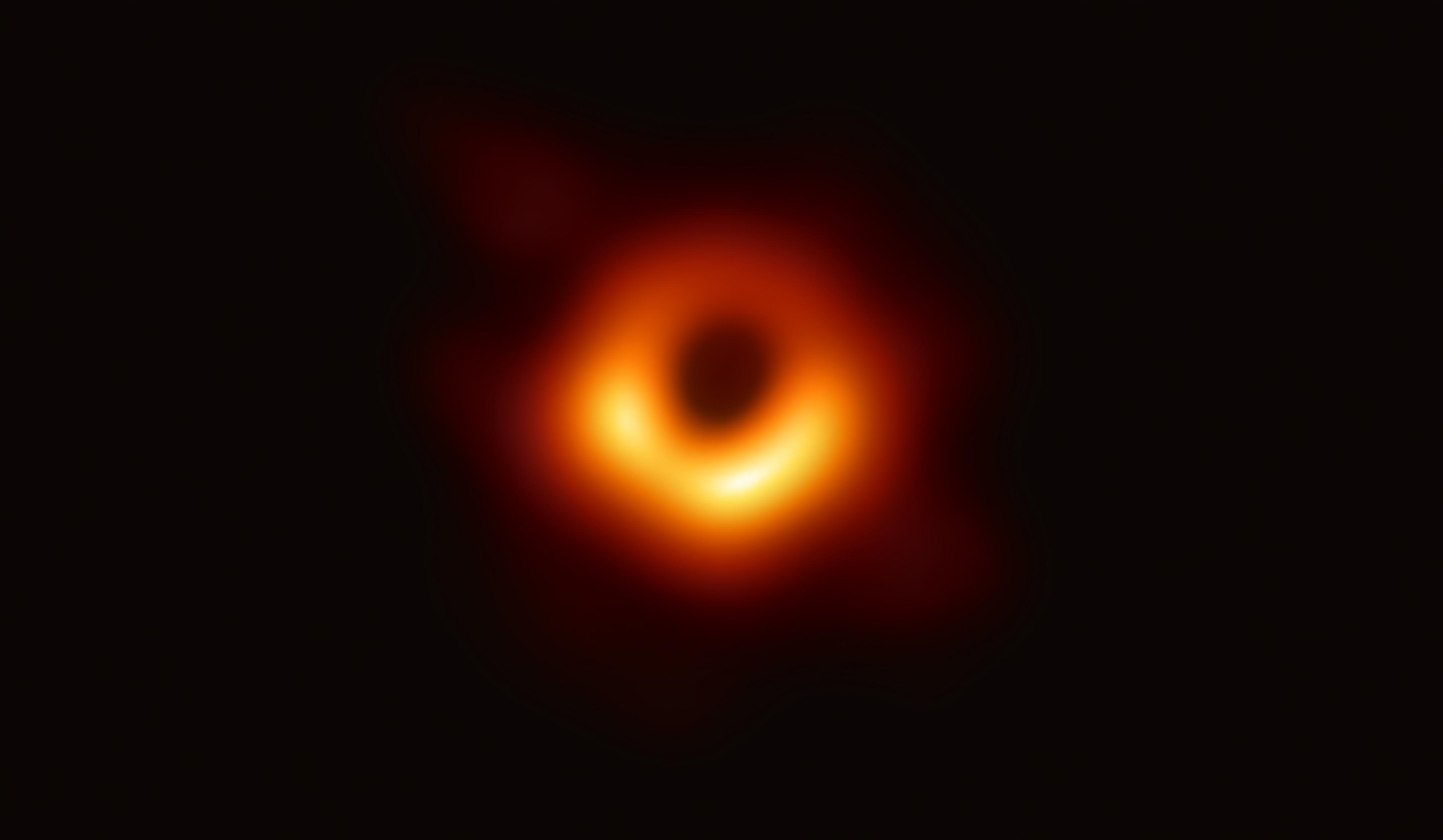 Picture credit: Black Hole in Galaxy Messier 87, Event Horizon Telescope collaboration et al.