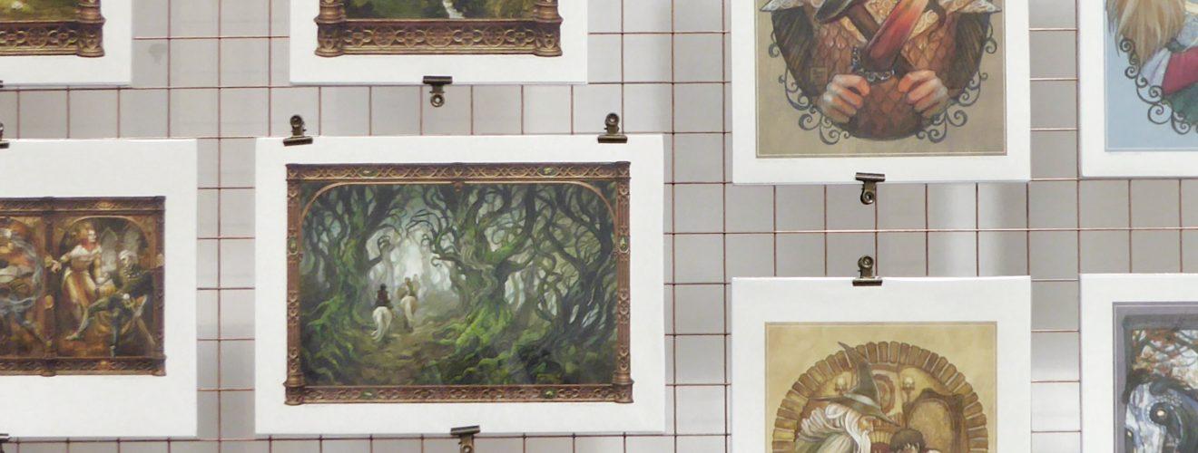 Art Show at Medicine & Baker Gallery, Birmingham, for Tolkien 2019