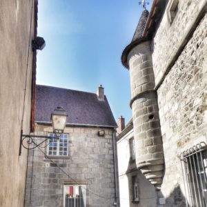 Old houses in Aubusson