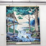 Tolkien Tapestries: Bilbo comes to the Huts of the Raft‐elves, Cité International de la tapisserie