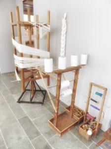 Part of the exhibition at Cité International de la tapisserie