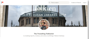 My Patreon/ TheTolkienist