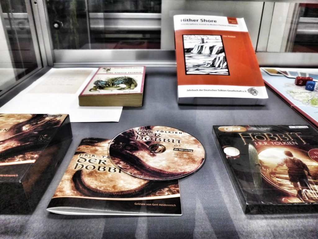 Exhibiting Tolkien at Berlin's State & Central Library, Nov 2012 - February 2013 (c) Marcel Aubron-Bülles